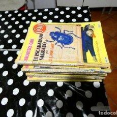 Libros: BIBLIOTECA ORO AÑOS 30 0,90 PESETAS AÑO 1 NUM 19 EL ESCARABAJO SAGRADO LOMO TOCADILLO. Lote 144629762