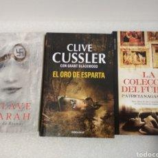 Libros: 3 NOVELAS ACTUALES. Lote 153829428