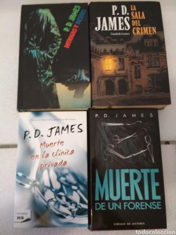 4 NOVELAS. P.D. JAMES. NOVELA POLICIACA. (Libros Nuevos - Literatura - Narrativa - Novela Negra y Policíaca)