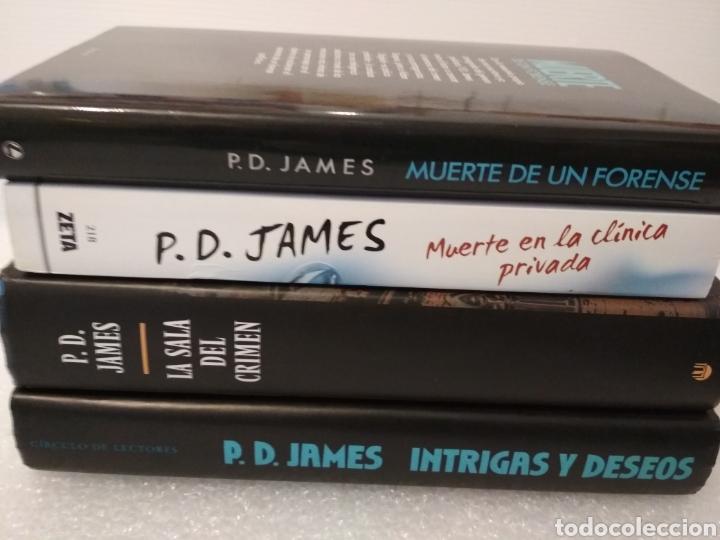 Libros: 4 novelas. P.D. James. Novela policiaca. - Foto 2 - 153831592