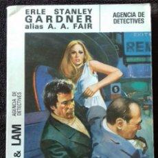 Libros: COOL & LAM. N° 1. AGENCIA DE DETECTIVES. GARDNER. A.A.FAIR. ED.MOLINO.. Lote 153953634