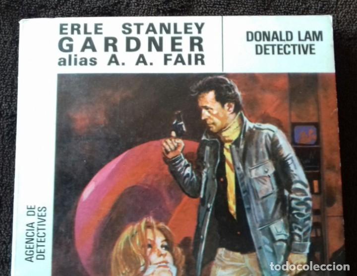 Libros: Cool & Lam. N° 2. Donald Lam detective. Gardner. A.A.Fair. Ed.Molino. - Foto 3 - 153953974