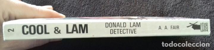 Libros: Cool & Lam. N° 2. Donald Lam detective. Gardner. A.A.Fair. Ed.Molino. - Foto 7 - 153953974