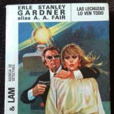 books - Cool & Lam. N° 9. Las lechuzas lo ven todo. Gardner. A.A.Fair. Ed.Molino. - 153954970