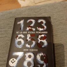 Libros: NOVELA BEST-SELLER SE LO QUE ESTÁS PENSANDO. Lote 155310822