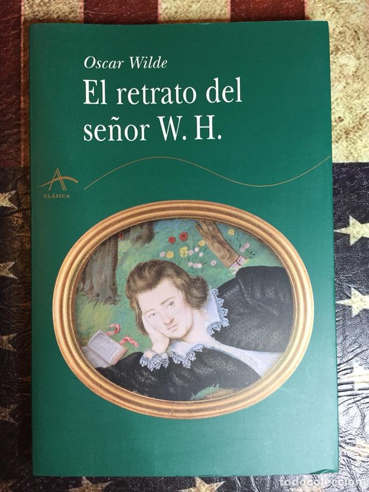 EL RETRATO DEL SEÑOR W.H. (Libros Nuevos - Literatura - Narrativa - Novela Negra y Policíaca)