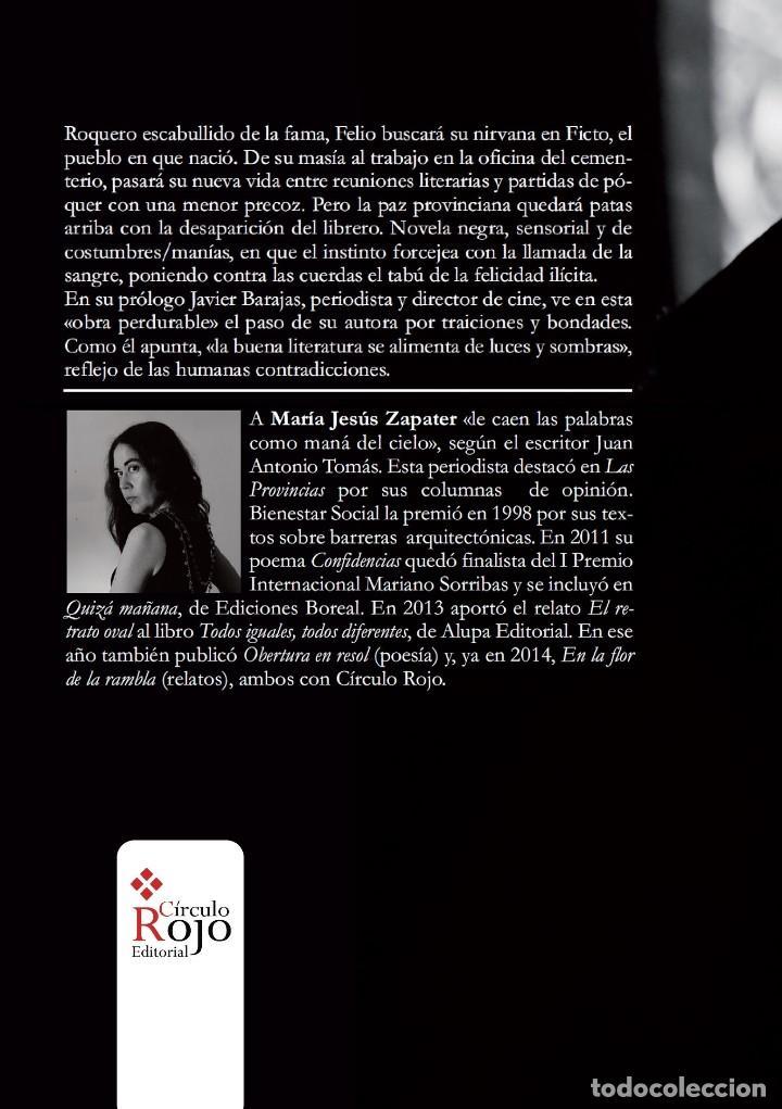 Libros: Ocho onzas de gresite chocolate y la novela negra de M. J. Zapater - Foto 3 - 159655282