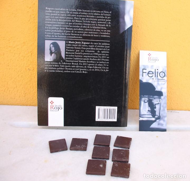 Libros: Ocho onzas de gresite chocolate y la novela negra de M. J. Zapater - Foto 4 - 159655282