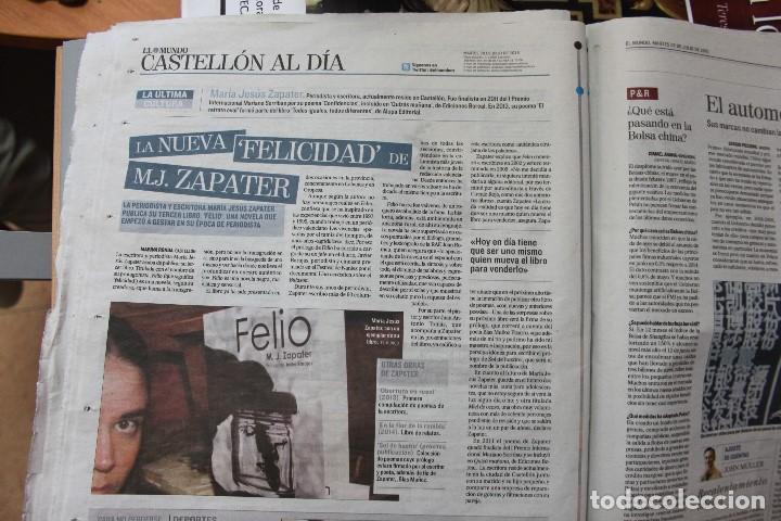 Libros: Ocho onzas de gresite chocolate y la novela negra de M. J. Zapater - Foto 8 - 159655282