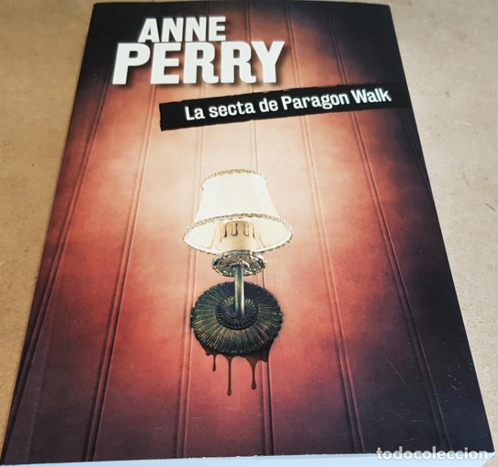 LA SECTA DE PARAGON WALK / ANNE PERRY / NOVELA NEGRA / NUEVO. (Libros Nuevos - Literatura - Narrativa - Novela Negra y Policíaca)