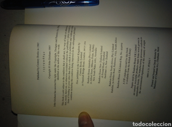 Libros: Te partner de John Grisham - Foto 3 - 165265761