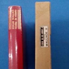 Libros: EDGAR WALLACE , NOVELAS DE MISTERIO , AGUILAR 1973 , TERCERA EDICIÓN. Lote 170336881