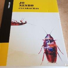 Libros: CUCARACHAS / JO NESBO / COLECCIÓN THRILLER / NUEVO. Lote 173925843