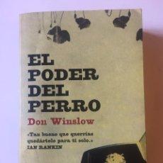Libros: EL PODER DEL PERRO DE DON WINSLOW. Lote 175249708