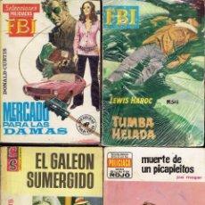 Libros: NOVELAS DE BOLSILIBROS POLICIACAS DE 126 PAGINAS 1960 Y 70. Lote 177868400