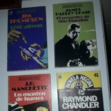 Libros: NOVELA NEGRA RAYMOND CHANDLER JIM THOMPSON.... Lote 182113203