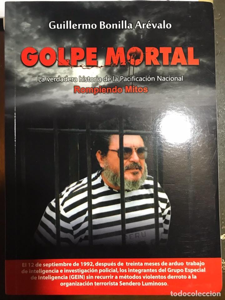 GOLPE MORTAL. GUILLERMO BONILLA ARÉVALO (Libros Nuevos - Literatura - Narrativa - Novela Negra y Policíaca)