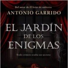 Libros: EL JARDÍN DE LOS ENIGMAS. ANTONIO GARRIDO.. Lote 184315102