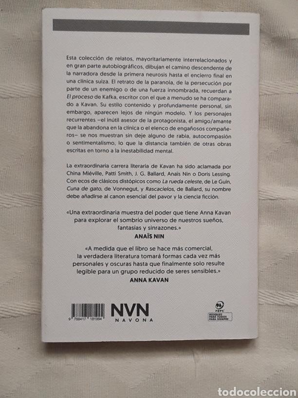 Libros: El descenso Anna Kavan Madrid 2019 Navona Ficciones In 4º rustica solapas 149 pp. - Foto 2 - 189344161