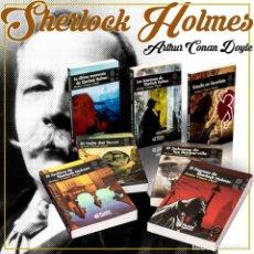 Libros: PACK SHERLOCK HOLMES. 8 LIBROS - ARTHUR CONAN DOYLE DESCATALOGADO!!! OFERTA!!!. Lote 190011712