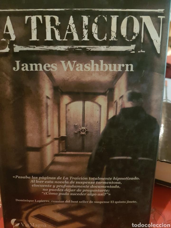 LA TRAICIÓN, DE JAMES WASHBURN (Libros Nuevos - Literatura - Narrativa - Novela Negra y Policíaca)