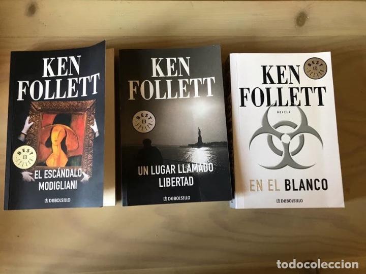 3 LIBROS DE KENT FOLLET (Libros Nuevos - Literatura - Narrativa - Novela Negra y Policíaca)