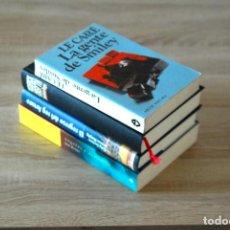 Libros: 4 LIBROS DE POLICÍAS, SECRETOS, THRILLER, CONSPIRACIÓN. Lote 193636890
