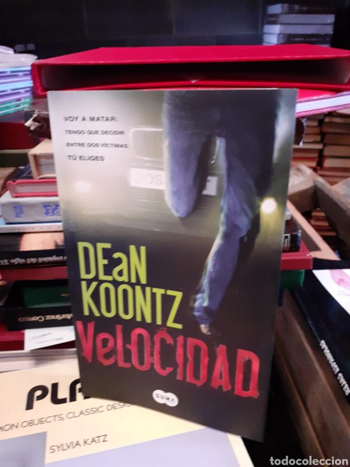 DEAN KOONTZ-VELOCIDAD (Libros Nuevos - Literatura - Narrativa - Novela Negra y Policíaca)