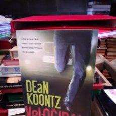 Libros: DEAN KOONTZ-VELOCIDAD. Lote 193907112