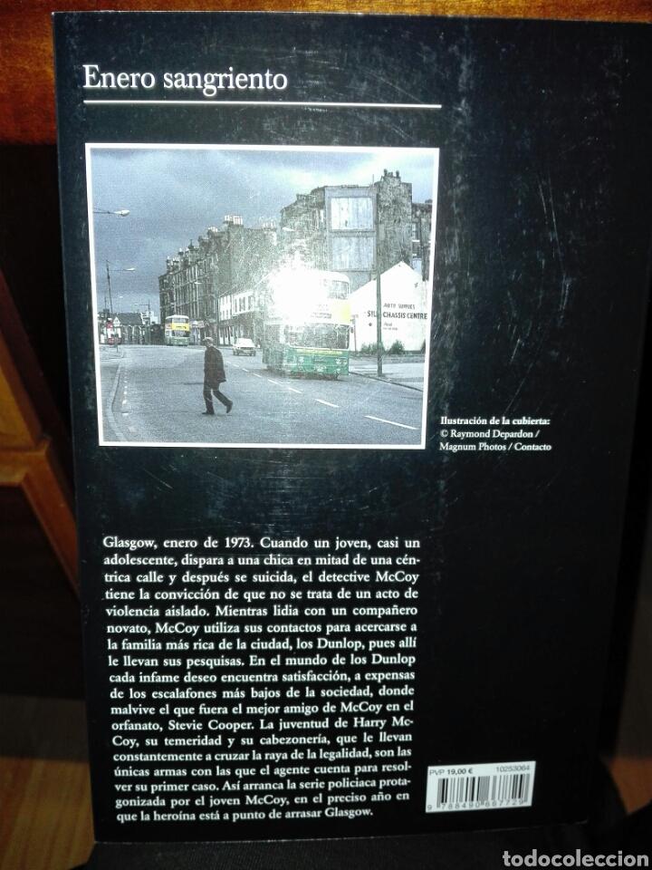 Libros: Enero sangriento. Alan Parks. Colección andanzas. Tusquets. 2020. - Foto 2 - 194159182