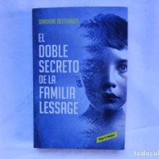 Libros: EL DOBLE SECRETO DE LA FAMILIA LESSAGE - SANDRINE DESTOMBES - NUEVO. Lote 194765846