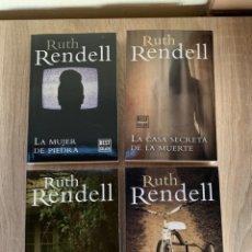Libros: LOTE RUTH RENDELL - 4 LIBROS NUEVOS. Lote 195335576