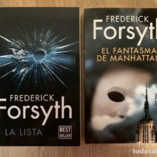 Libros: LOTE FREDERICK FORSYTH. Lote 195364081