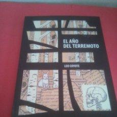 Libros: EL AÑO DEL TERREMOTO - LEO COYOTE. Lote 196723957
