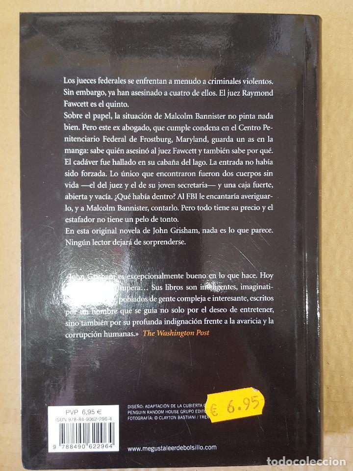 Libros: LIBRO / EL ESTAFADOR / JOHN GRISHAM / PRIMERA EDICION EN DEBOLSILLO, MAYO 2014 - Foto 3 - 199842302