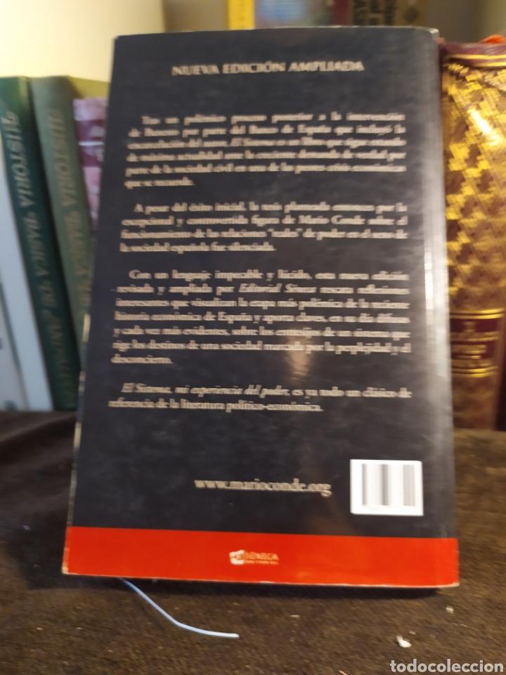 Libros: El sistema mi experiencia del poder por Mario Conde 2° edicion, 371 pg. - Foto 2 - 200362141