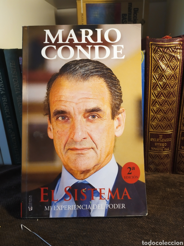 EL SISTEMA MI EXPERIENCIA DEL PODER POR MARIO CONDE 2° EDICION, 371 PG. (Libros Nuevos - Literatura - Narrativa - Novela Negra y Policíaca)