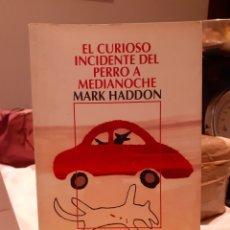 Libros: EL CURIOSO INCIDENTE DEL PERRO A MEDIA NOCHE. Lote 203976301
