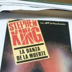 Libros: STEPHEN KING . LA DANZA DE LA MUERTE . EDITORIAL PLAZA & JANES. Lote 204463263