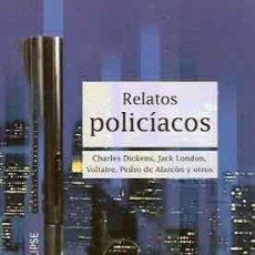 Libros: RELATOS POLICÍACOS. Lote 204765948