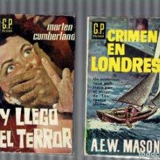 Libros: NOVELAS POLICIACAS ANTIGUAS EDITORIALES COMO G.P.POLICIACA,BIBLIOTECA DE ORO Y OTRAS MAS 1960 - 1970. Lote 204847370