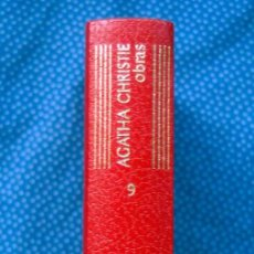 Libros: OBRAS AGATHA CHRISTIE. TOMO 9 - EDITORIAL AGUILAR, COLECCIÓN EL LINCE ASTUTO. 2ª EDIC. 1973. Lote 206204650