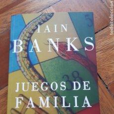 Libros: JUEGOS DE FAMILIA. IAIN BANKS. Lote 210056911
