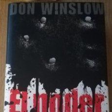 Libros: EL PODER DEL PERRO. THRILLER. DON WILSON 2010. Lote 210492676