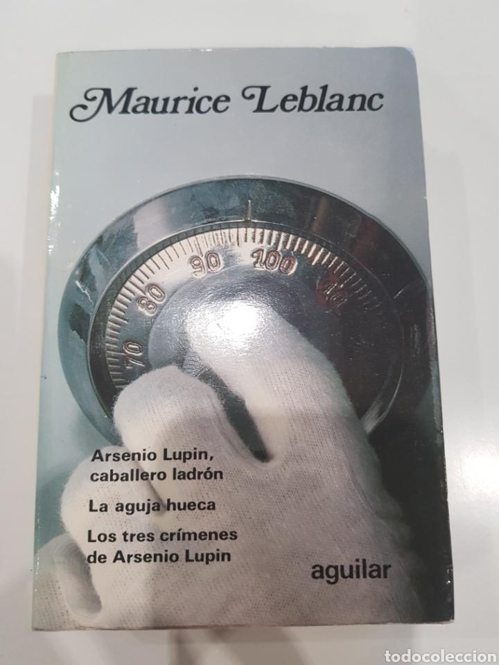 MAURICIO LEBLANC ,AGUILAR ,1980 (Libros Nuevos - Literatura - Narrativa - Novela Negra y Policíaca)