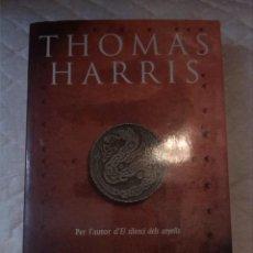 Libros: HANNIBAL. THOMAS HARRIS. EDICIONS 62. 1999. CATALÀ. Lote 210799905