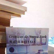 Libros: CRÓNICAS DE NUEVA YORK. Lote 211634367