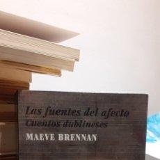 Libros: LAS FUENTES DEL AFECTO. Lote 211634540