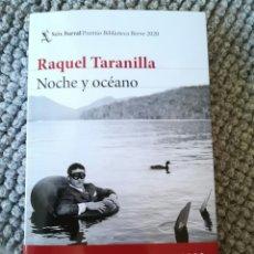 Libros: TARANILLA RAQUEL. SEIX BARRAL, 2020. LIBRO NUEVO. Lote 213090270
