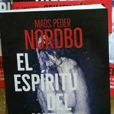 Libros: EL ESPIRITU DEL HIELO. MADS PEDER NORDBO. MAESTRO CRIMEN NÓRDICO. PLANETA. TAPA DURA. Lote 213509437